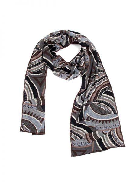 Pañuelos Fulares Pareos - Bufanda Étnico Doble de Pelo [BUFIW01] para comprar al por mayor o detalle  en la categoría de Complementos Hippies Alternativos.
