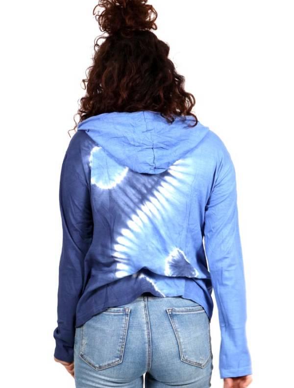 Camiseta Ying Yang Tie Dye con capucha - Detalle Comprar al mayor o detalle