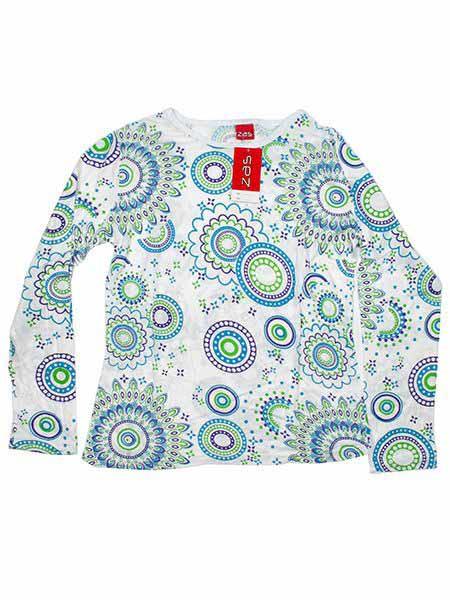 Camiseta M Larga mandalas - 167 Comprar al mayor o detalle