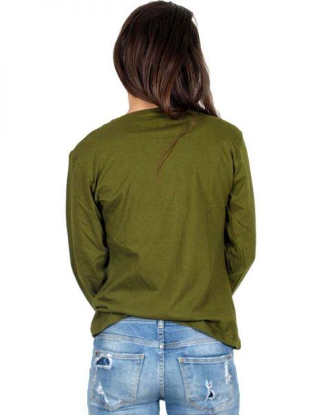Camisetas de Manga Larga - Camiseta de algodón CAEV05.