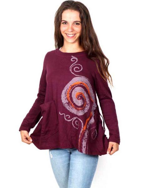 Camiseta con Espiral Estampada [CAEV15] para Comprar al mayor o detalle