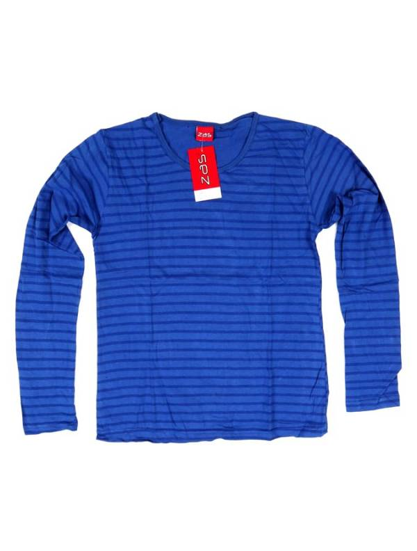Camiseta de Rayas - Azul Comprar al mayor o detalle