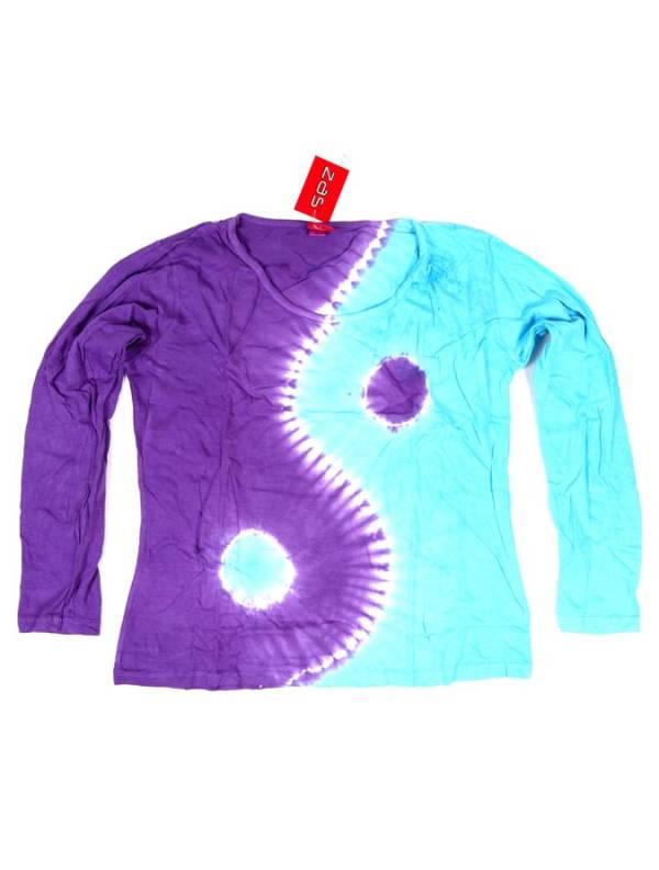 Camiseta Ying Yang Tie Dye - Morado Comprar al mayor o detalle
