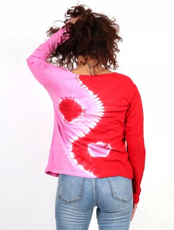 Camiseta Ying Yang Tie Dye - Detalle Comprar al mayor o detalle