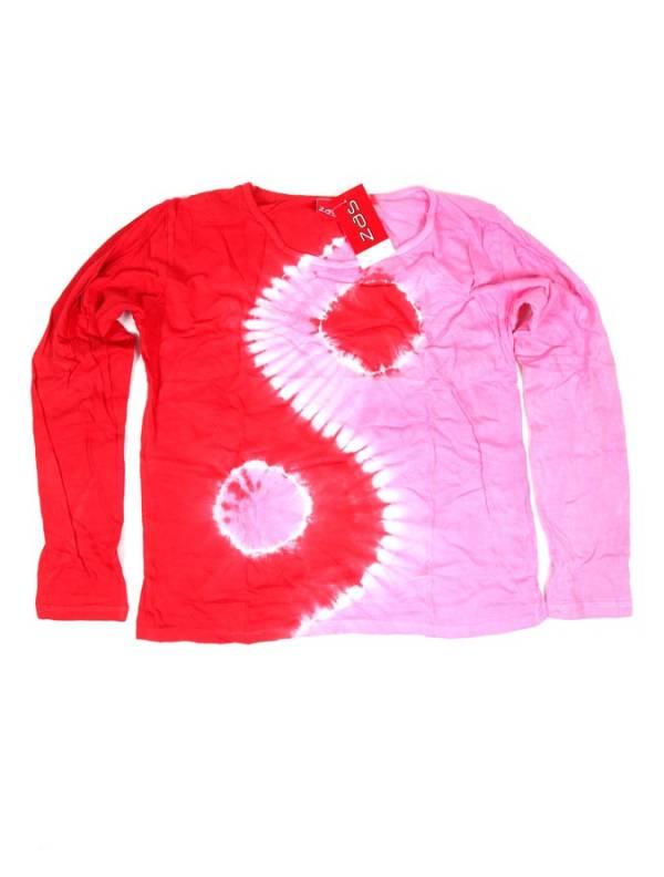 Camiseta Ying Yang Tie Dye - Rosa Comprar al mayor o detalle