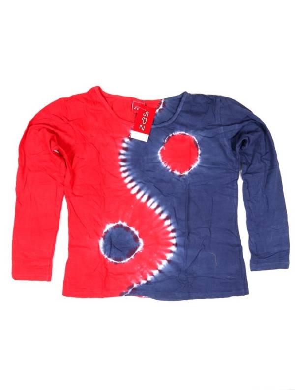 Camiseta Ying Yang Tie Dye - Rojo Comprar al mayor o detalle