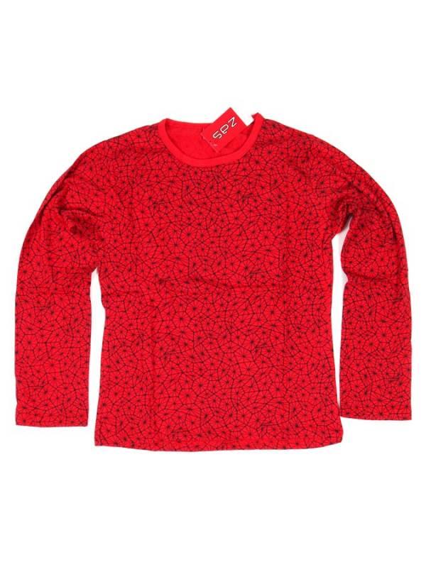Camiseta Hippie estampada - Rojo Comprar al mayor o detalle