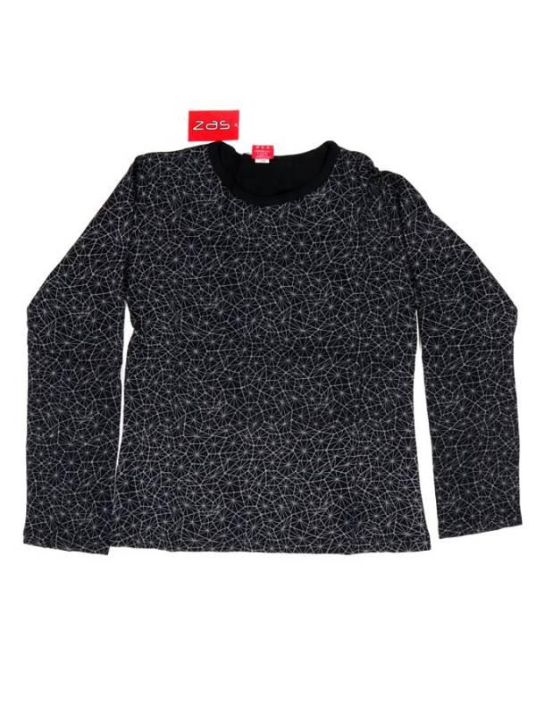 Camiseta Hippie estampada - Negro Comprar al mayor o detalle