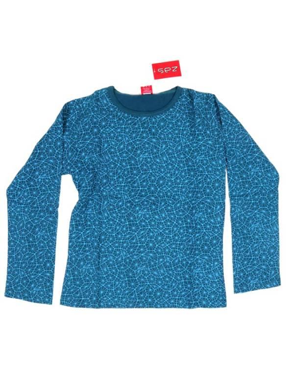 Camiseta Hippie estampada - Azul Comprar al mayor o detalle
