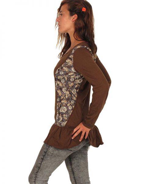 Con estampado de flores en los laterales. camiseta de manga larga Comprar - Venta Mayorista y detalle