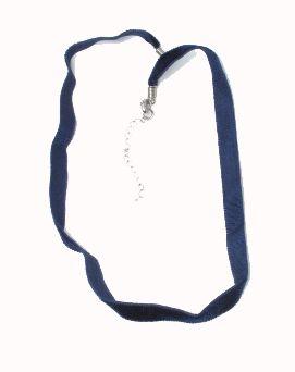 Collar sencillo en material aterciopelado o bien algodón encerado, Comprar - Venta Mayorista y detalle