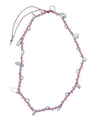 Pack de 12 collares variados. Collar cuero, piedritas, conchas etc. - A10 Comprar al mayor o detalle