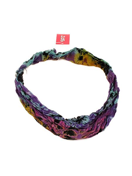 Cinta-Banda Tie Dye ancha con elástico [CEJU02] para Comprar al mayor o detalle