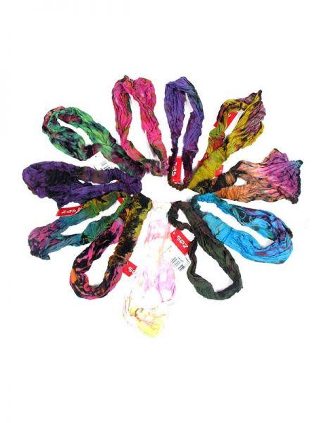 Cinta-Banda Tie Dye ancha con elástico - Detalle Comprar al mayor o detalle