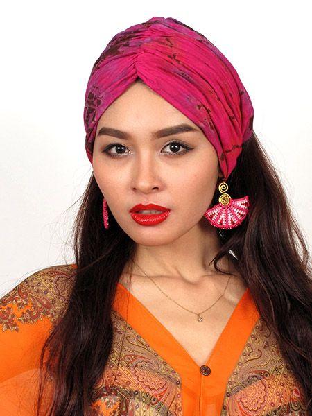 Diadema tipo turbante para el pelo elástica ancha en la parte Comprar - Venta Mayorista y detalle