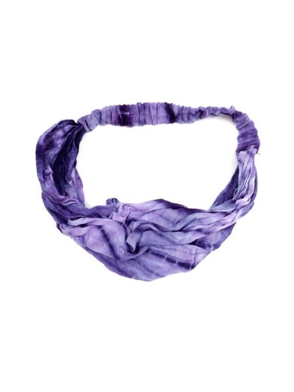 Cinta-Banda Tie Dye ancha con elástico [CEPN02] para comprar al por Mayor o Detalle en la categoría de Cintas pelo / Máscaras