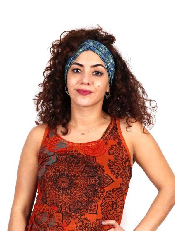 Cinta del pelo Estampada Cruzada - Detalle Comprar al mayor o detalle
