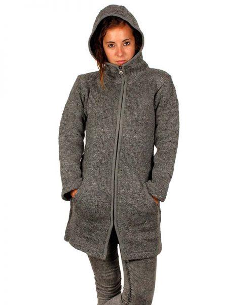 Abrigo de lana Alternativo. Abrigo tres cuartos de punto de lana, Comprar - Venta Mayorista y detalle