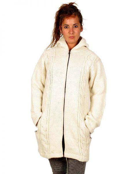 Abrigo de lana ochos Alternativo. Abrigo tres cuartos de punto de [CHAM06] para Comprar al mayor o detalle