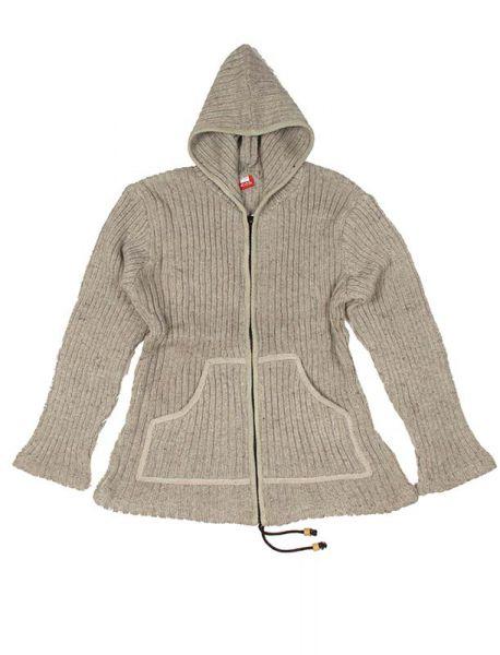 Sudadera de lana Alternativa. Chaqueta tipo sudadera de punto de lana, [CHAM11] para Comprar al mayor o detalle