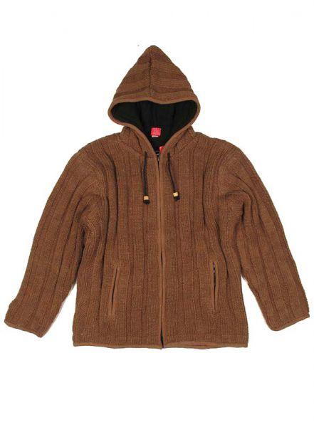 Sudaderas - Abrigos - Chaqueta de lana Alternativa. Chaqueta - Abrigo tipo sudadera de punto [CHAM16] para comprar al por mayor o detalle  en la categoría de Ropa Hippie Alternativa para Hombre.