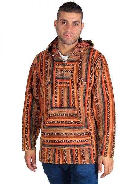 Chaqueta Sudadera algodón étnica, con capucha , bolsillos Comprar - Venta Mayorista y detalle