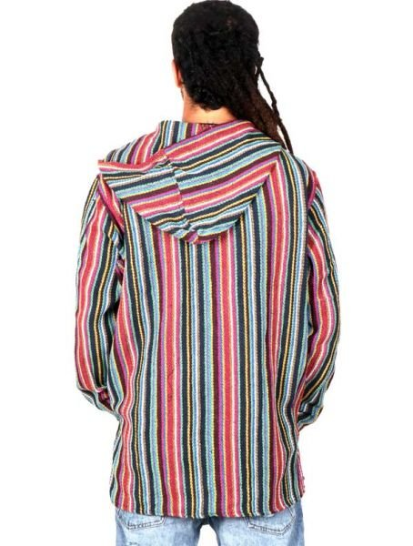 Sudadera Hippie de rayas - Detalle Comprar al mayor o detalle