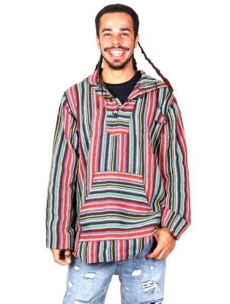 venta caliente online 98355 e543c Sudadera Hippie de rayas CHEV17 ☆ ZAS Ropa Hippie