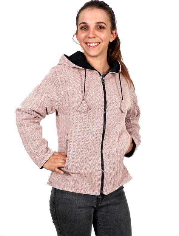 Chaquetas/ Abrigos - Chaqueta Punto Espiga Hippie [CHEV22] para comprar al por mayor o detalle  en la categoría de Ropa Hippie Alternativa para Chicas.