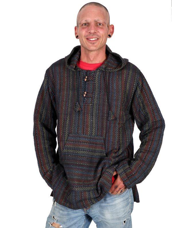 Sudaderas - Abrigos - Sudadera Hippie Tipo Canguro [CHEV24] para comprar al por mayor o detalle  en la categoría de Ropa Hippie Alternativa para Hombre.