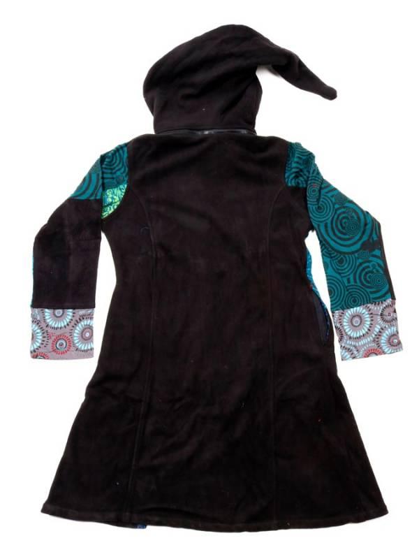 Chaquetón patchwork capucha desmontable - Detalle Comprar al mayor o detalle
