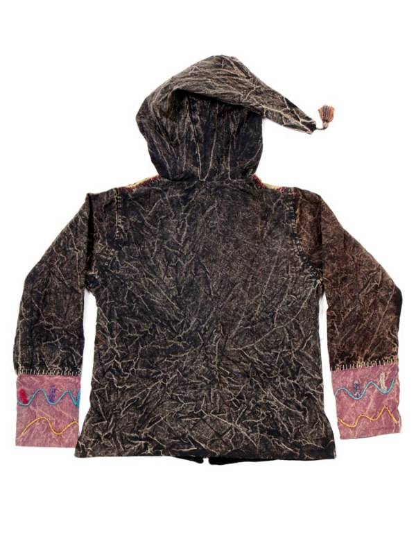 Chaqueta Hippie de Invierno Patchwork - Detalle Comprar al mayor o detalle