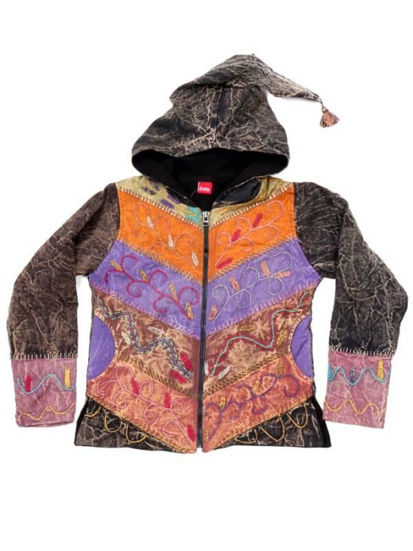 Chaqueta Hippie de Invierno Patchwork [CHEV68] para comprar al por Mayor o Detalle en la categoría de Chaquetas y Abrigos