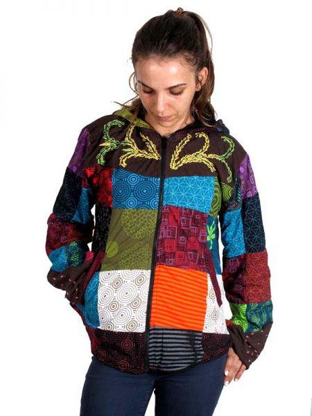Chaqueta hippie patchwork. - Detalle Comprar al mayor o detalle