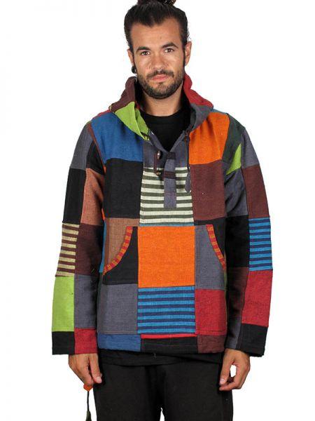 Sudadera hippie patchwork. Sudadera de algodón alternativa Comprar - Venta Mayorista y detalle