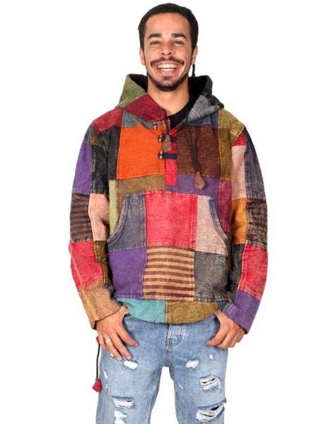 Sudadera hippie patchwork. Comprar - Venta Mayorista y detalle