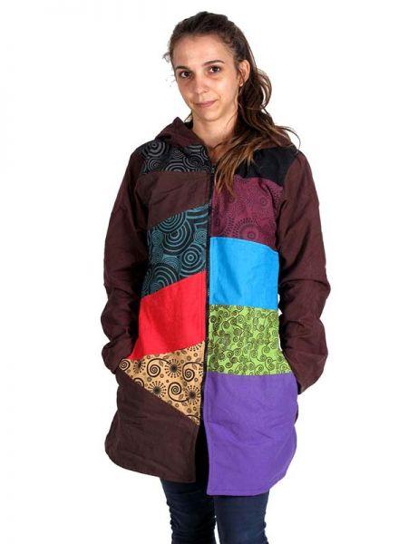 Abrigo hippie patchwork Estampado. [CHHC34] para Comprar al mayor o detalle