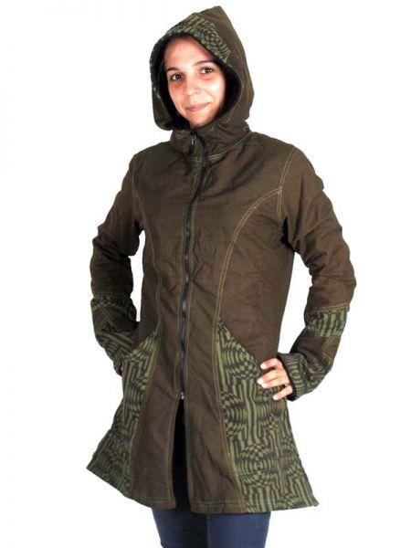 Abrigo algodón loneta de parches estampado retro diseño Comprar - Venta Mayorista y detalle
