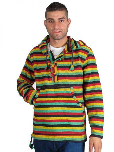 Sudadera Rasta Rainbow [CHHC38] para Comprar al mayor o detalle