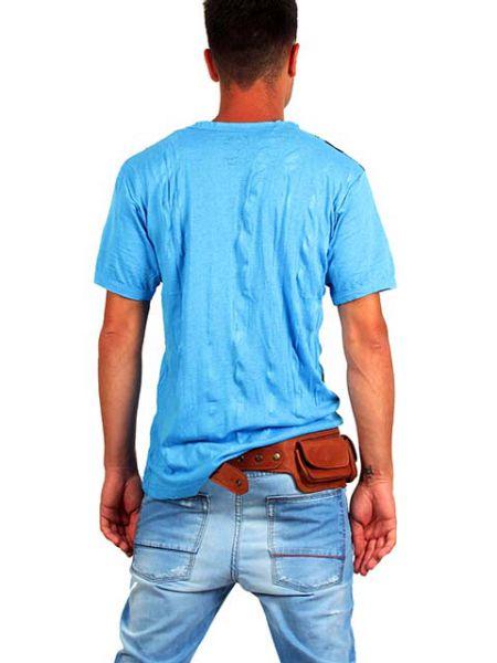 Cinto riñonera de piel de alta calidad, tres bolsillos exteriores Comprar - Venta Mayorista y detalle