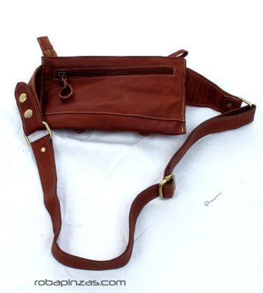Cinto riñonera piel de alta calidad, varios bolsillos externos e internos, cierre hebilla. - DETALLE Comprar al mayor o detalle