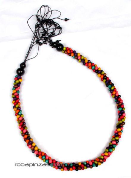 Cinto de bolas de colores engarzadas, tamaño regulable Comprar - Venta Mayorista y detalle