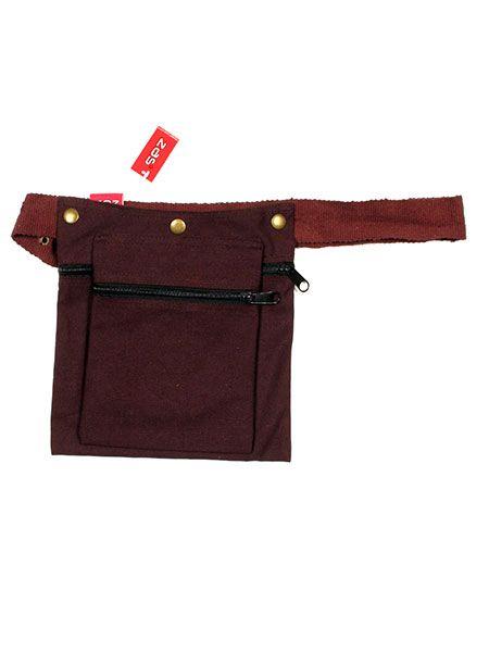 cartuchera hippie cinto multicolor o liso, bolso doble para el cinto Comprar - Venta Mayorista y detalle