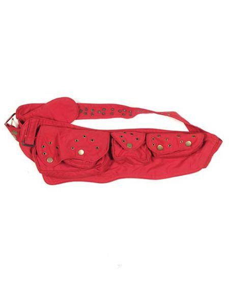 Riñoneras / Cartucheras - Cinturón multiblosillos loneta, [CIHC09] para comprar al por mayor o detalle  en la categoría de Complementos Hippies Alternativos.
