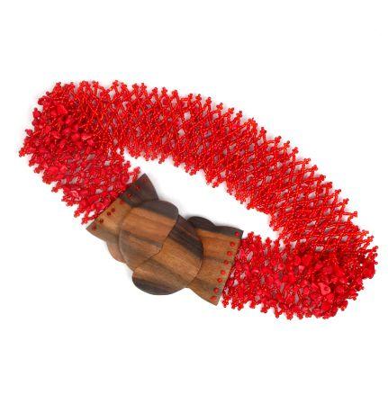 Cinturón cuentas colores. cinturón elástico realizado en cuentas Comprar - Venta Mayorista y detalle
