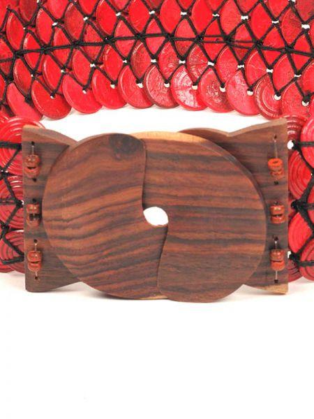 Cinturón ancho de estilo étnico realizado con cuentas Comprar - Venta Mayorista y detalle
