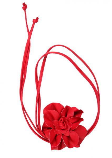 Cinturones Llaveros - Cinturón flor cuero pa, con cordón de piel pa y motivo central con [CIPO03] para comprar al por mayor o detalle  en la categoría de Complementos Hippies Alternativos.