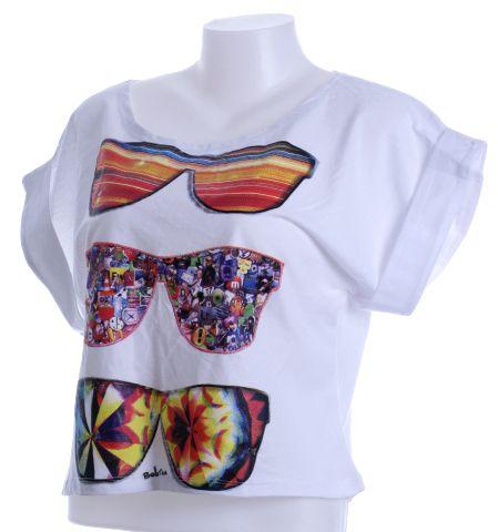 Camiseta gafas colores, manga corta amplia. Talla única Comprar - Venta Mayorista y detalle