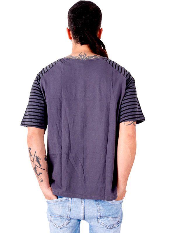 Camiseta Om rayas - Detalle Comprar al mayor o detalle