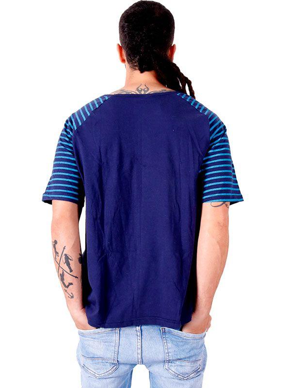Camiseta Espiral Rayas - Detalle Comprar al mayor o detalle